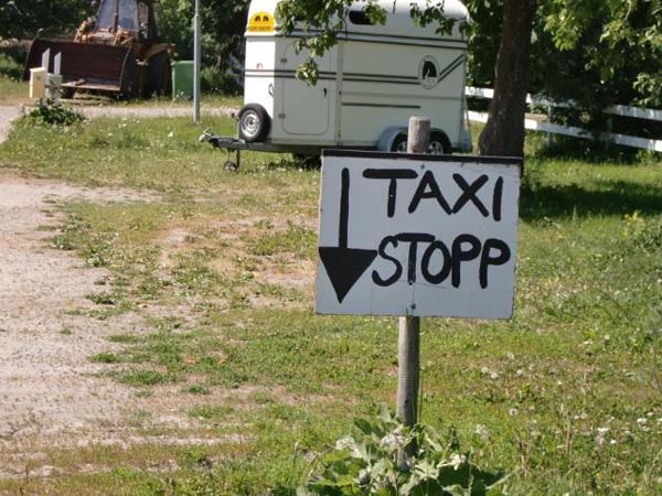 Taxi stopp