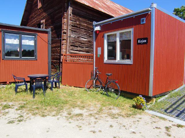 Här kan du vila eller äta mellis/fika.